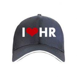 Кепка I love HR