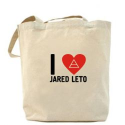 Сумка I love Jared Leto - FatLine