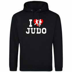 Толстовка I love Judo - FatLine