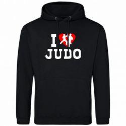 Толстовка I love Judo