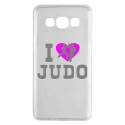 Чехол для Samsung A3 2015 I love Judo