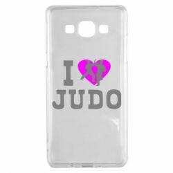 Чехол для Samsung A5 2015 I love Judo