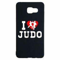 Чехол для Samsung A5 2016 I love Judo