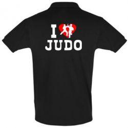 Футболка Поло I love Judo