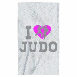 Полотенце I love Judo