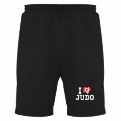 Мужские шорты I love Judo - FatLine