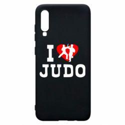 Чехол для Samsung A70 I love Judo