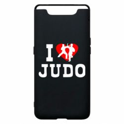 Чехол для Samsung A80 I love Judo