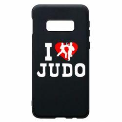 Чехол для Samsung S10e I love Judo