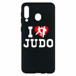 Чехол для Samsung M30 I love Judo
