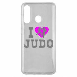 Чехол для Samsung M40 I love Judo