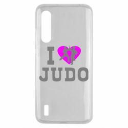 Чехол для Xiaomi Mi9 Lite I love Judo