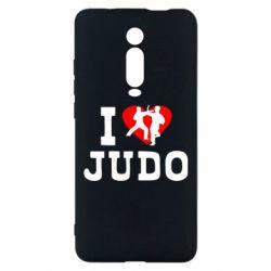 Чехол для Xiaomi Mi9T I love Judo