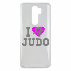 Чехол для Xiaomi Redmi Note 8 Pro I love Judo