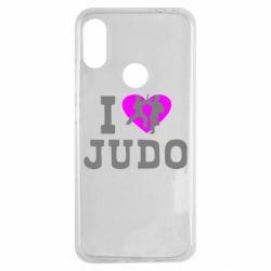 Чехол для Xiaomi Redmi Note 7 I love Judo