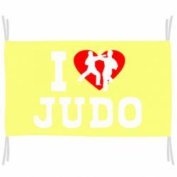 Флаг I love Judo