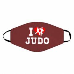 Маска для лица I love Judo