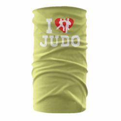 Бандана-труба I love Judo
