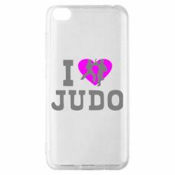 Чехол для Xiaomi Redmi Go I love Judo