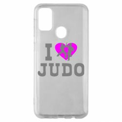 Чехол для Samsung M30s I love Judo