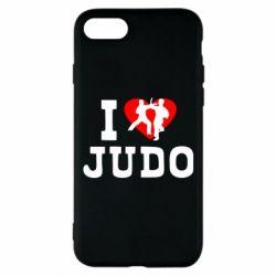 Чехол для iPhone 7 I love Judo