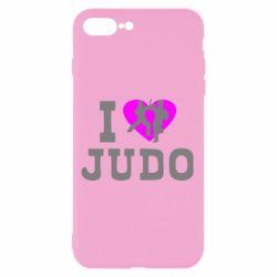 Чехол для iPhone 7 Plus I love Judo