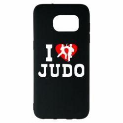 Чехол для Samsung S7 EDGE I love Judo