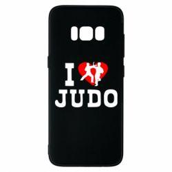Чехол для Samsung S8 I love Judo
