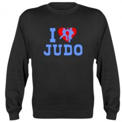 Реглан (свитшот) I love Judo - FatLine