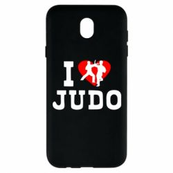 Чехол для Samsung J7 2017 I love Judo