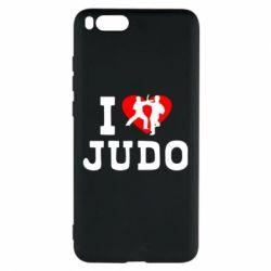 Чехол для Xiaomi Mi Note 3 I love Judo