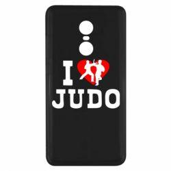 Чехол для Xiaomi Redmi Note 4x I love Judo
