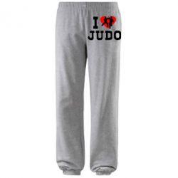 Штаны I love Judo