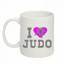 Кружка 320ml I love Judo - FatLine