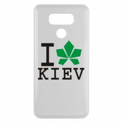 Чехол для LG G6 I love Kiev - с листиком - FatLine