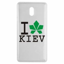 Чехол для Nokia 3 I love Kiev - с листиком - FatLine