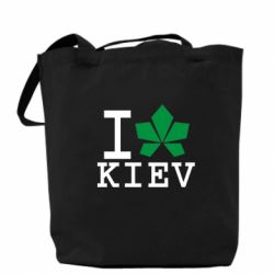 Сумка I love Kiev - с листиком - FatLine