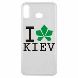 Чехол для Samsung A6s I love Kiev - с листиком - FatLine