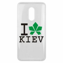 Чехол для Meizu 16 plus I love Kiev - с листиком - FatLine