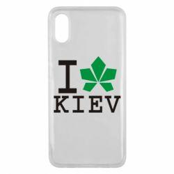 Чехол для Xiaomi Mi8 Pro I love Kiev - с листиком - FatLine