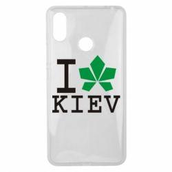 Чехол для Xiaomi Mi Max 3 I love Kiev - с листиком - FatLine