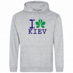 Толстовка I love Kiev - с листиком - FatLine