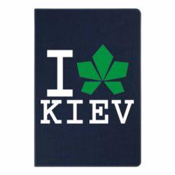 Блокнот А5 I love Kiev - с листиком - FatLine