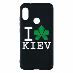 Чехол для Mi A2 Lite I love Kiev - с листиком - FatLine