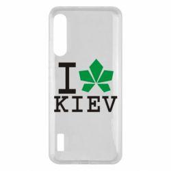 Чохол для Xiaomi Mi A3 I love Kiev - с листиком