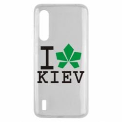 Чехол для Xiaomi Mi9 Lite I love Kiev - с листиком