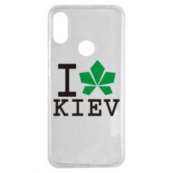 Чехол для Xiaomi Redmi Note 7 I love Kiev - с листиком