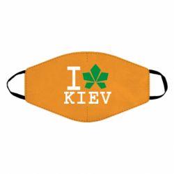 Маска для обличчя I love Kiev - з листком