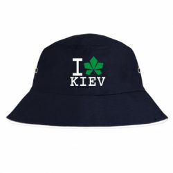 Панама I love Kiev - з листком