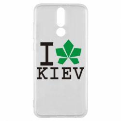 Чехол для Huawei Mate 10 Lite I love Kiev - с листиком - FatLine